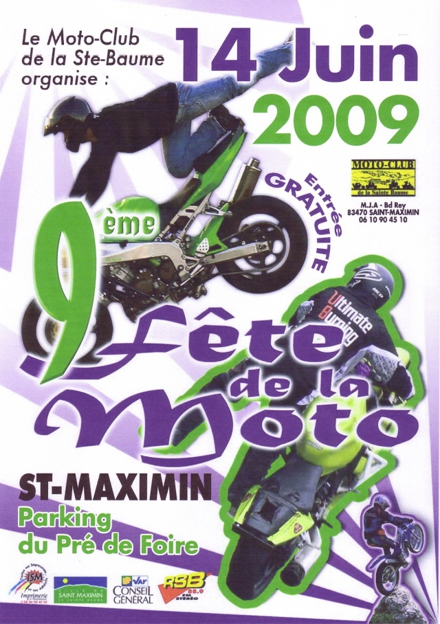 Fete de la moto a st maximin le 14 juin 2009 for Passion carrelage saint maximin
