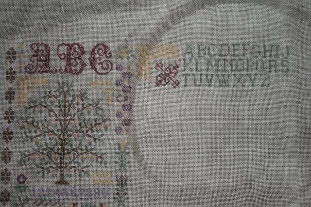 Les arbres de jardin secret mes bidouilles croisouilles for Jardin secret 78