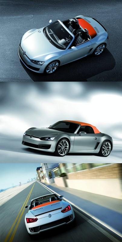 2009 volkswagen bluesport concept. Black Bedroom Furniture Sets. Home Design Ideas