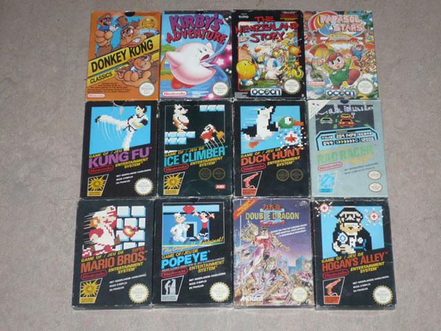 VDS] Jeux NES, Supernes, nintendo 64 complet