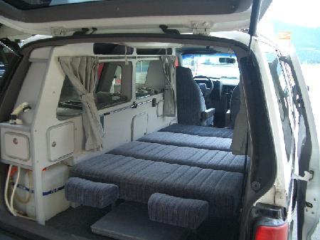 Motor home camper et c v modifi s for Interieur chrysler voyager 2000