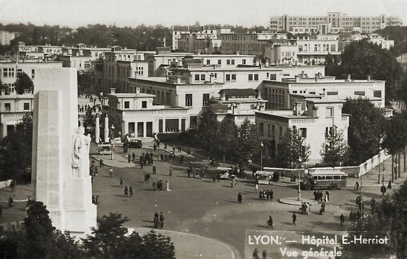 Forum l 39 historique du r seau cartes postales photos - Hopital edouard herriot grange blanche ...