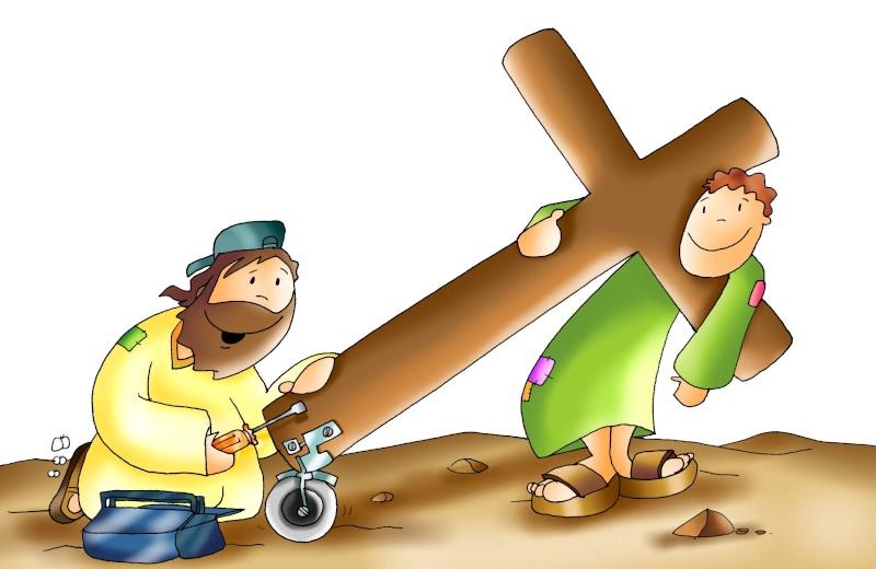 Toma tu cruz y sígueme