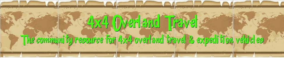 4x4 Overland Travel
