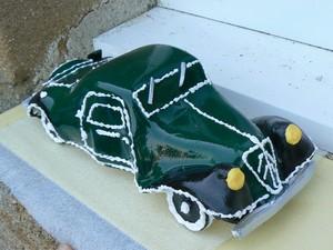 Gateau vieille voiture