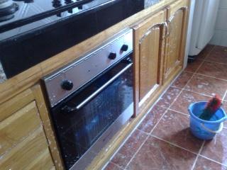 اليووم حبييت فرجيييكم شطارتي في تنظييف المنزل هههههههه.......... 1 المطبخ