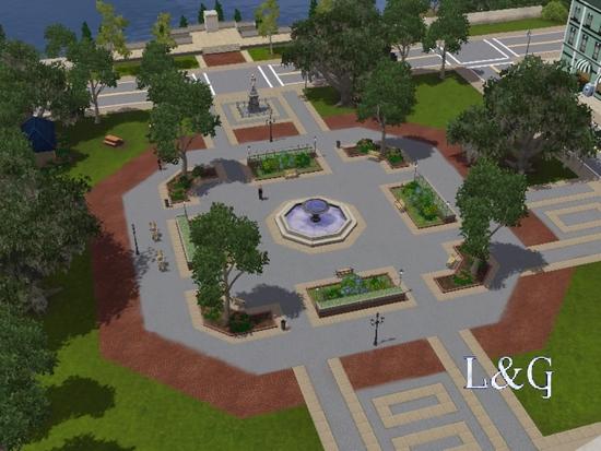 parc centre ville