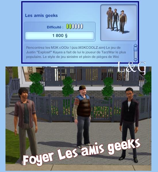 les amis Geeks