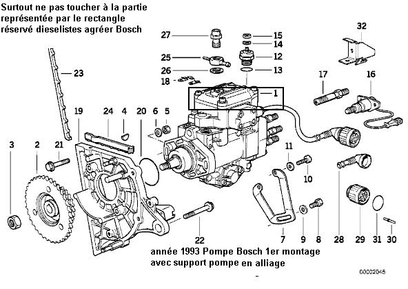 bmw e36 325 td an 1993   pas de pression turbo  r u00e9solu