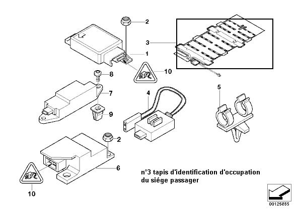 bmw e39 525 tds an voyant airbag allum. Black Bedroom Furniture Sets. Home Design Ideas