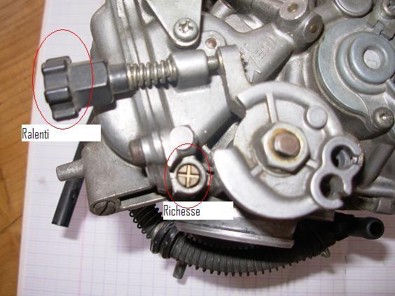 Faire sa richesse pour les nuls atoc moto africatwin transalp owners club - Vis de richesse carburateur ...