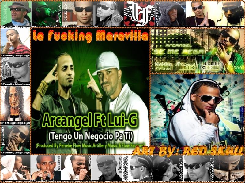 """Arcangel (Austin """"La Maravish"""")"""