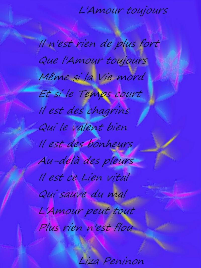 Lamour Toujours Liza Peninon Stellamaris Poèmes Et