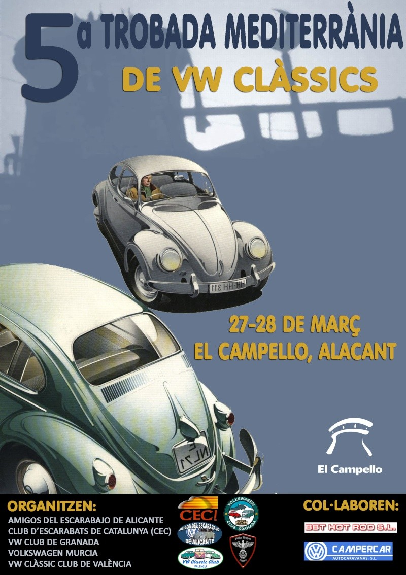 80b6c06d10 5ª Trobada Mediterrània de VW Clàssics (EL CAMPELLO) 27-28 Marzo ...