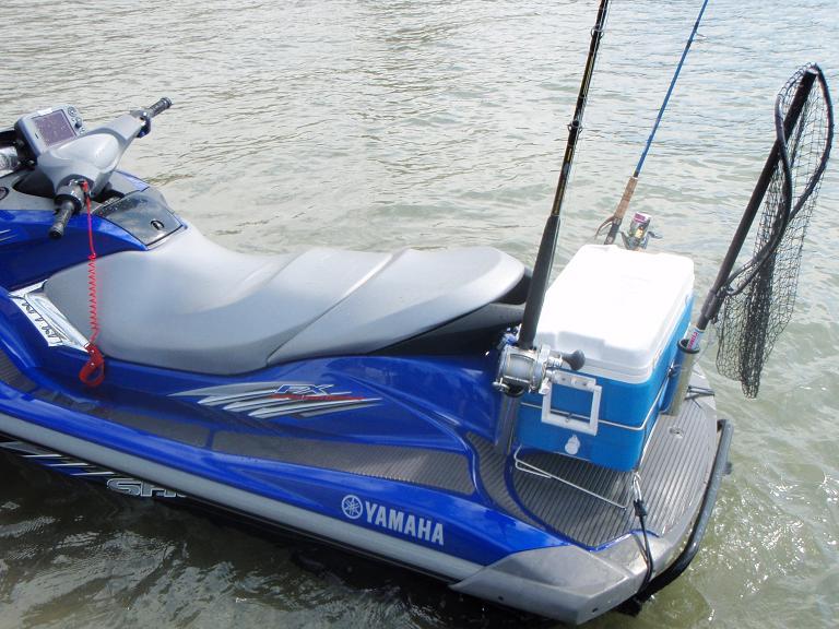 Ultimate rod holder kit special members only deal for Jet ski fishing setup