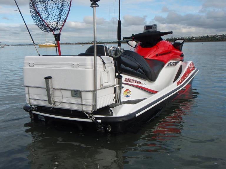 Jetski sportfishing for Jet ski fishing rack