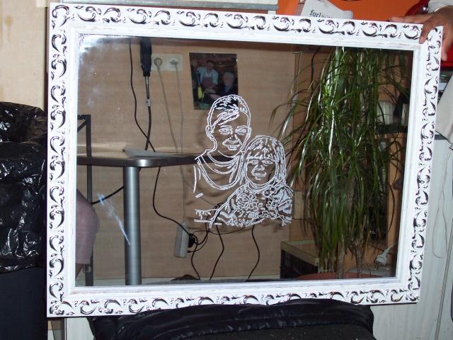 Gravure sur miroir mes essais for Gravure sur miroir