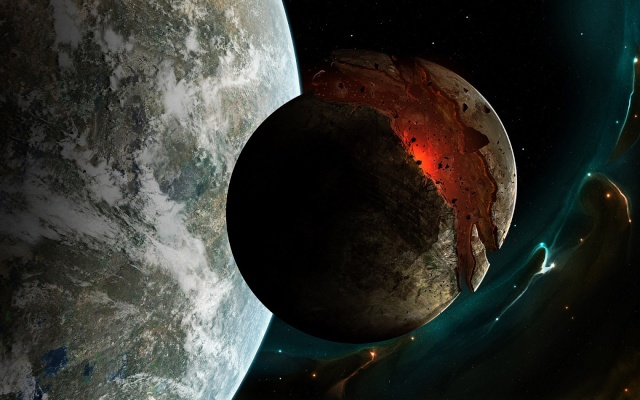 Exploding Planet View In High Definition