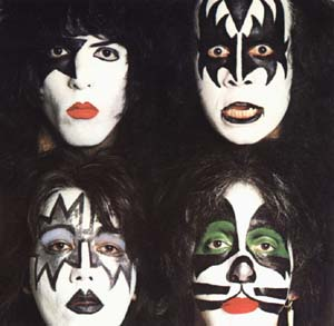 how to add kiss paint face