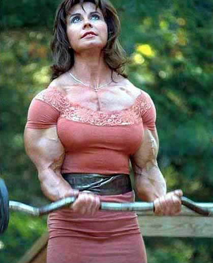the strongest women in the world
