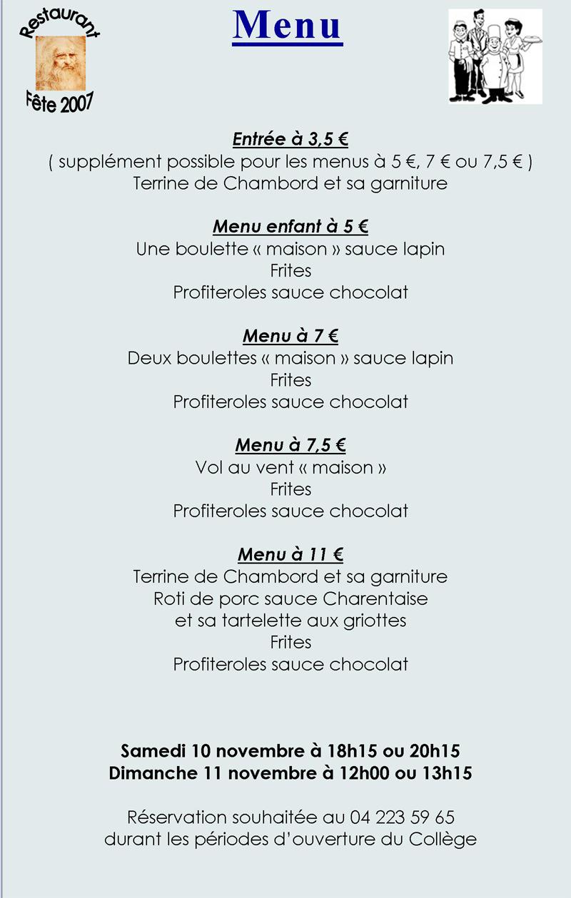 Salle a descutation salle a manger for Salle a manger menu