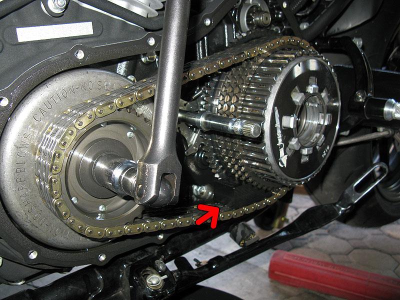 Harley Davidson Softail Demontage Reservoir