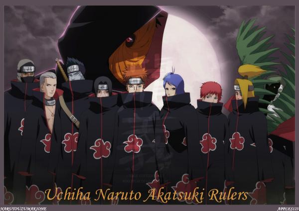 Uchia Naruto Akatsuki Rulers