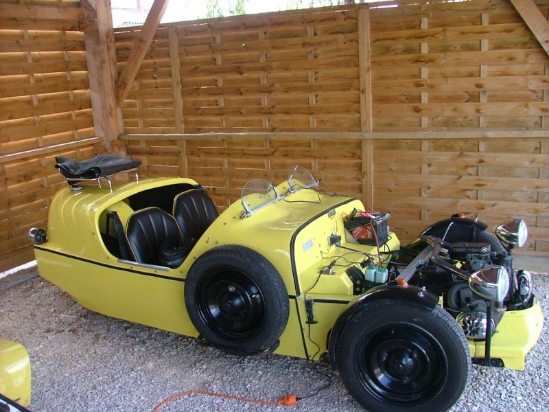 citroen 2cv 3 roues