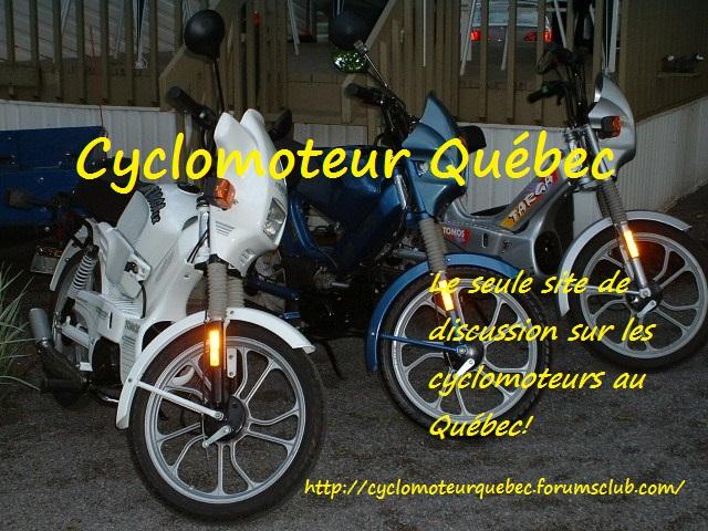Cyclomoteur Québec