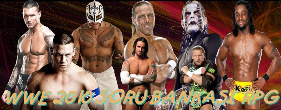 WWE 2010 SORU BANKASI RPG