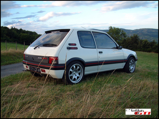 coyote2809 peugeot 205 gti 1 9 blanc photo bilstein b6 p16 page 3. Black Bedroom Furniture Sets. Home Design Ideas