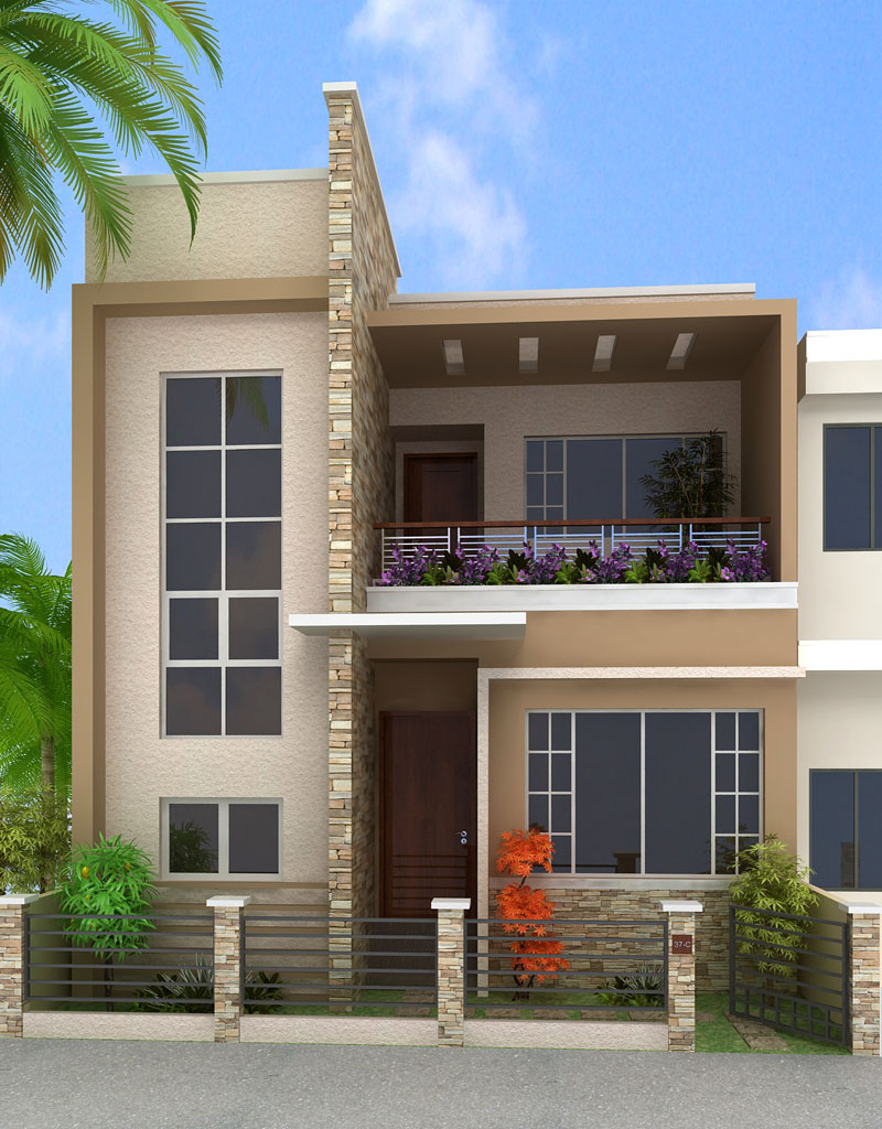 Box type modern house design filipino joy studio design for Types of duplex houses
