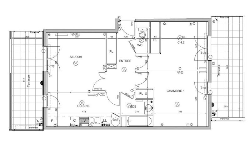 Besoin de conseils en am nagement int rieur page 3 for Plan amenagement cuisine 10m2