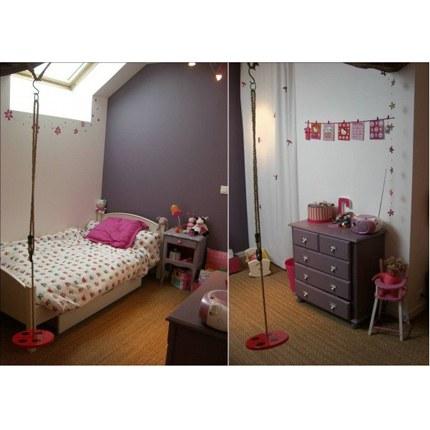 chambre de fille turquoise. Black Bedroom Furniture Sets. Home Design Ideas