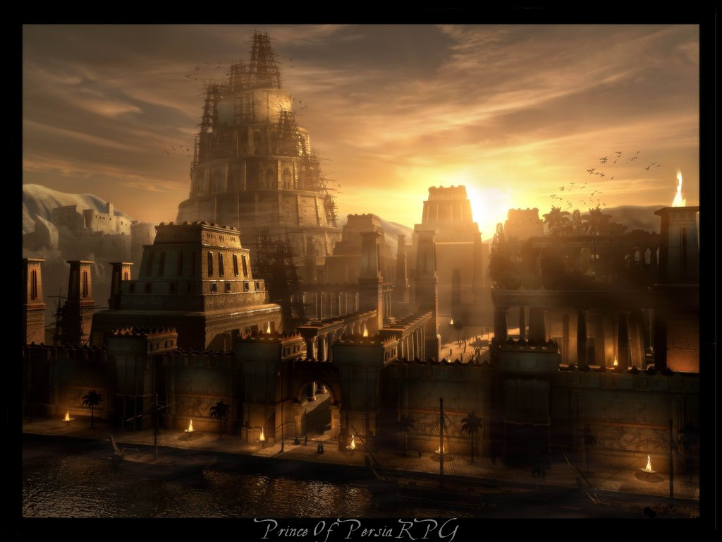 Prince of persia rpg for Architecture fantastique