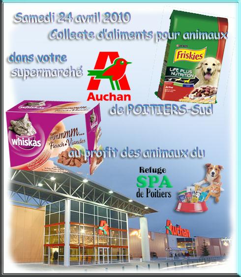 Interesting spa de poitiers collecte dualiments pour for Auchan poitiers porte sud