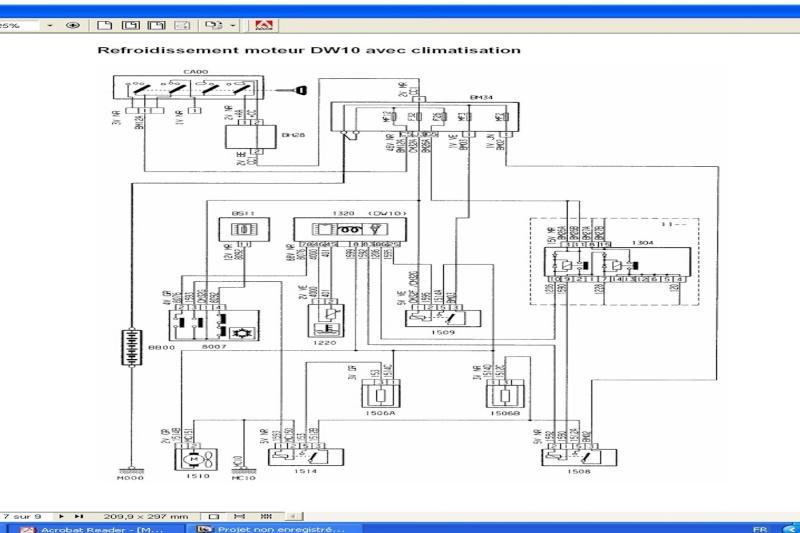 (406 hdi 110) ventillateur moteur - Page 2