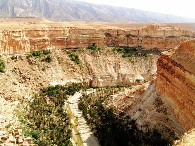 Les balcons du Ghoufi dans les Aurès, le «grand canyon» algérien