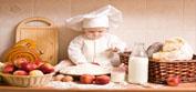 Cuisiner avec les petits