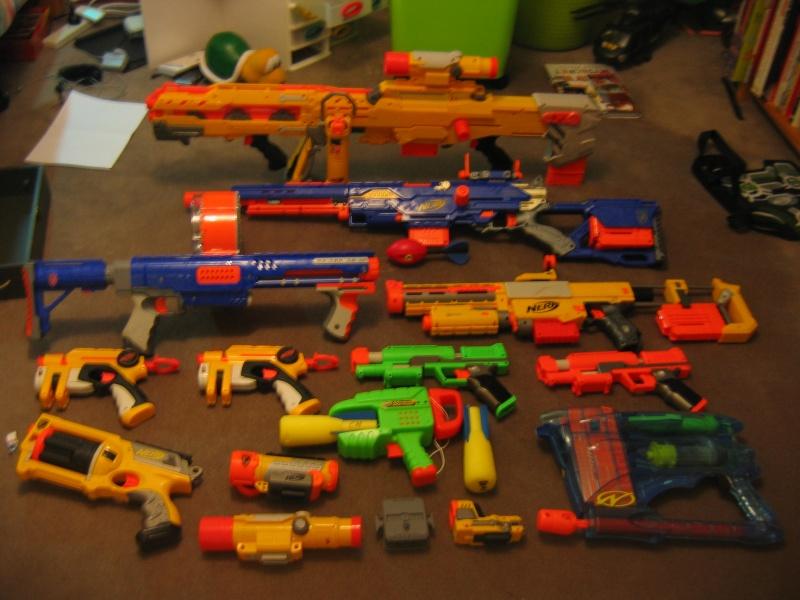 Nerf Gun Arsenal Nerf arsenals - Page 3