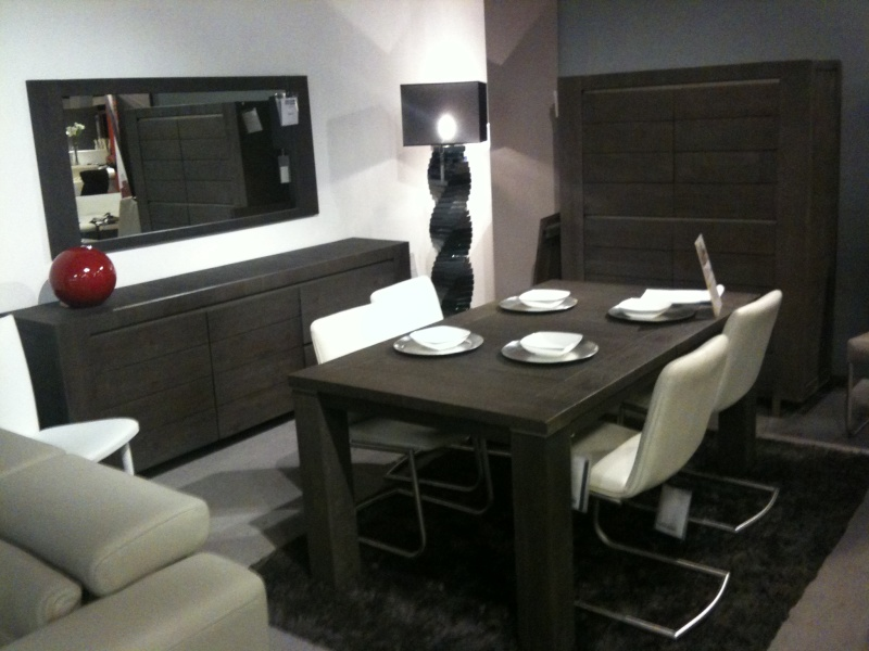 Transformation de notre salon salle manger for Meuble salle a manger noir