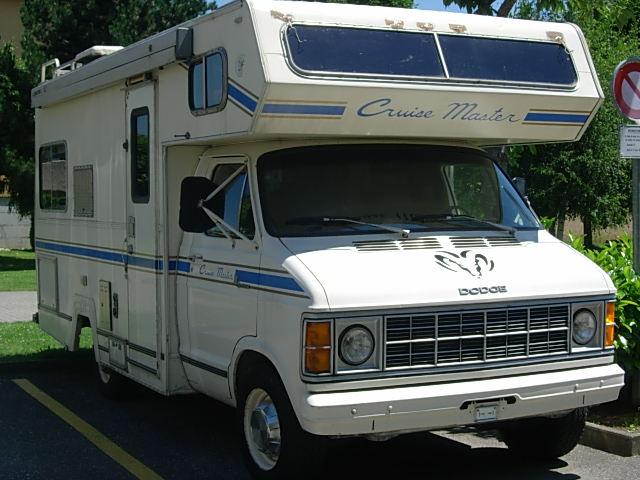 1980 dodge van camper