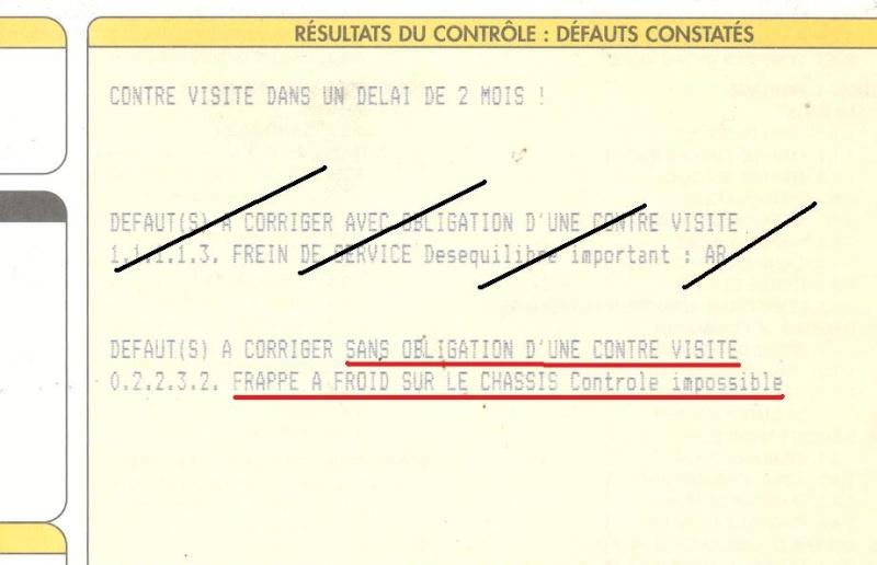 Peut On Monter Legalement Un Nouveau Chassis Sur Un Vehicule Pas Le Meme Numero Archives Forum 4x4