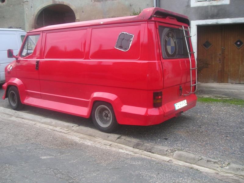 c25 j5 ducato et d riv s le fameux camion rouge. Black Bedroom Furniture Sets. Home Design Ideas