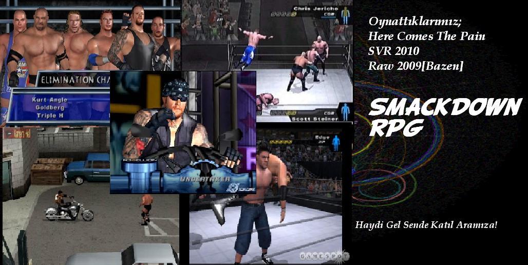 WWE-Smackdown  RPG