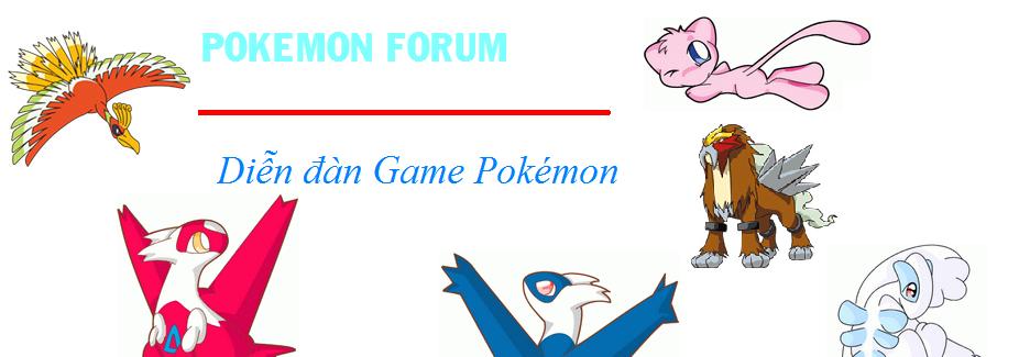 Diễn đàn Game Pokémon