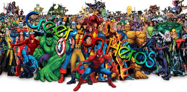 Cr er un forum cr ton h ros - Poster super heros ...