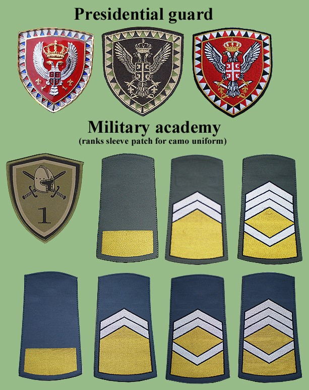 Serbian Armed Forces Insignias From My Collection