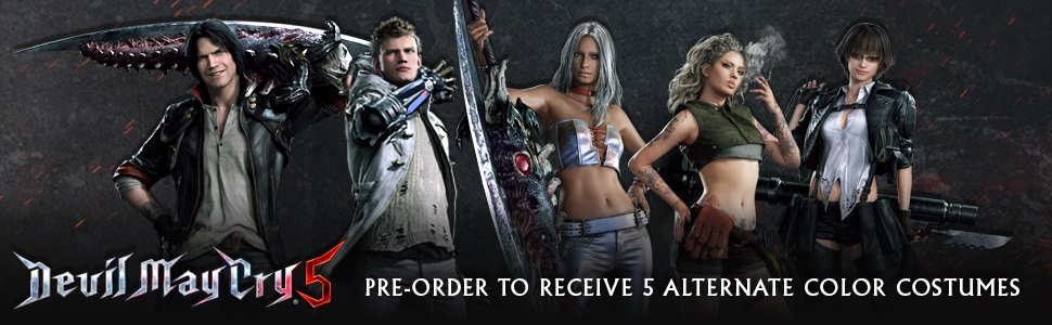 Devil May Cry 5 Bonus Preorder