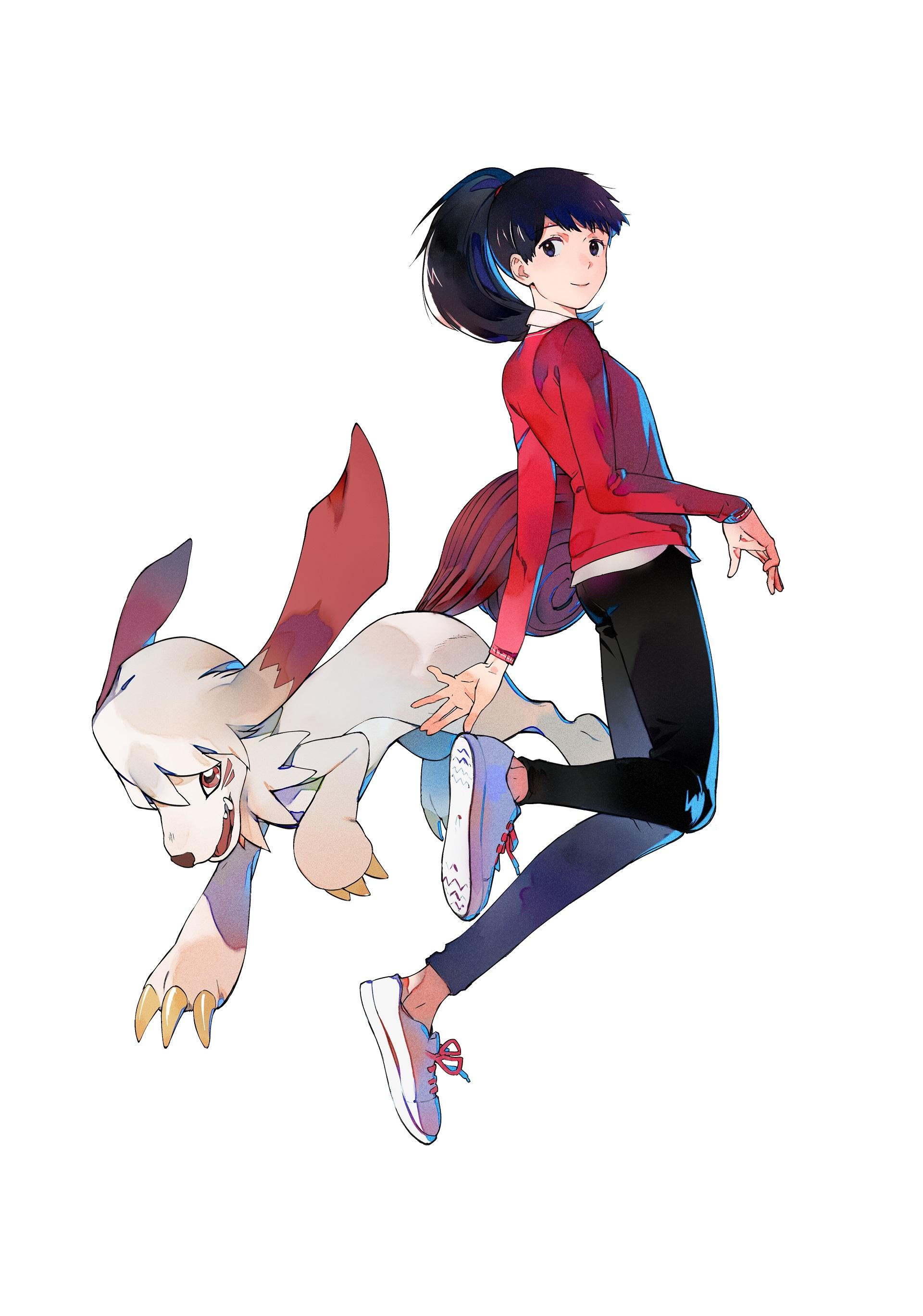 Digimon Survive: Aoi & Labramon